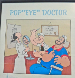 Retina specialist humor.
