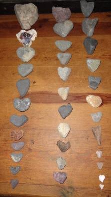 35 Beach Hearts