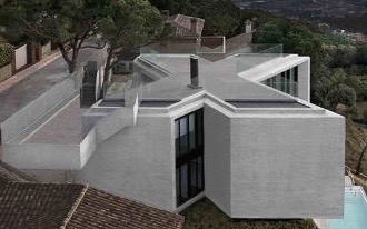 X-Shaped-Hillside-House-Barcelona-3 (1)