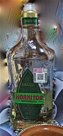 and the partiers spied the bottles of tequila on the table, Los Hornitos ruled the day. (The bottle may have gone out in the trash, but I got a photo that didn't so here is the bottle of tequila I recommend! Hornitos. Not harsh going down. Not harsh the morning after.)
