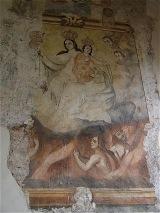 Tzintzuntzan Church Museum Murals