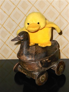 Perhaps a wild ride on Big Duck's antique goose? THE END. (CLICK ON X AT THE UPPER RIGHT TO RETURN TO POST PAGE.)