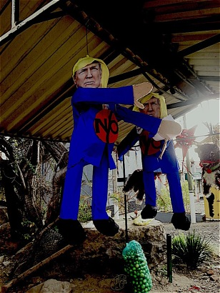 Donald seems to be struggling with his alter-ego. Who shall we hope wins?