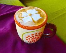 coffee and foam