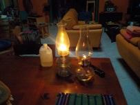 Grandma's kerosene lantern still gets regular usage in Mexico during power outages.