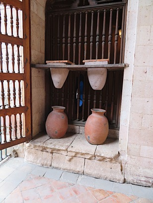 This was the water filtration system for drinking water for the house, hopefully removing the harmful minerals that poured down the river from the mines above and below.