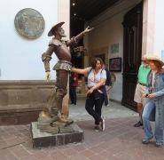 And more Don Quixote.