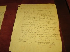 A page written by Cervantes.