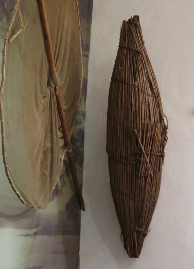 This fish trap looks remarkably like one of Bob's sculptures. I'll show a comparison in a later blog.