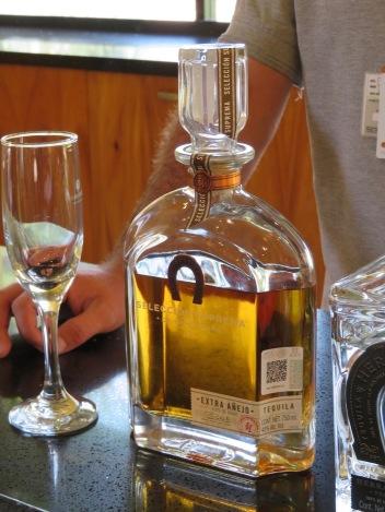 Premium tequila, $500 a bottle.