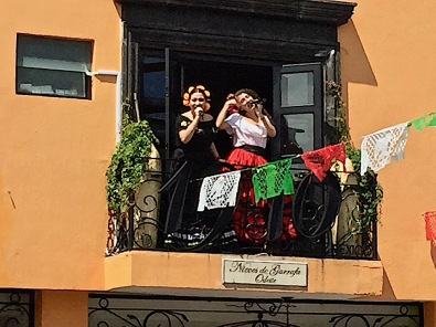 Then a musical welcome to Tlaquepaque.