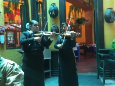 to the music of female mariachis