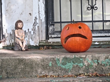 Signs of a sad Halloween