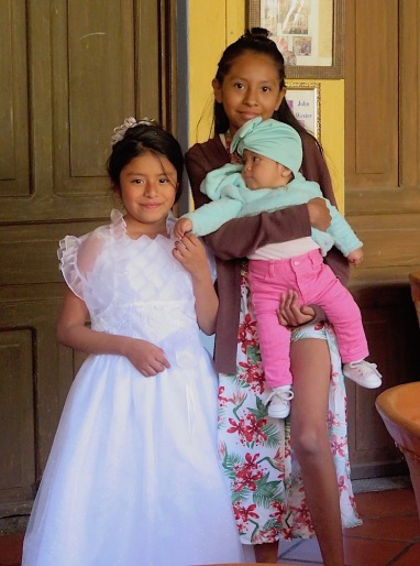 Yoli and cousins