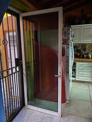 the door was installed,