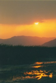 Sunset on Lake Chapala