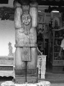 Wood Sculpture, Sheridan, WY