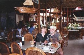With Bob in Kuta Beach.